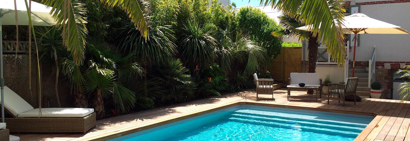 Chambres d 39 hotes la baule pr s de gu rande et pornichet for Les jardins de la villa et spa