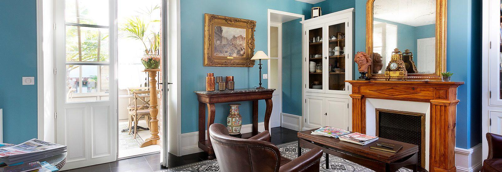 salon villa la ruche la baule chambre d hotes haut de gamme luxe plage benoit calme repos